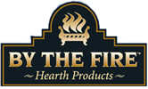 by the fire logo