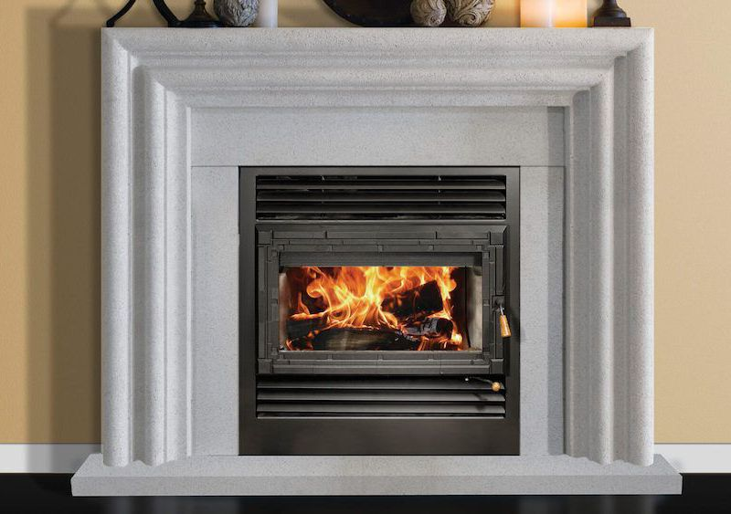 f unlimited hybrid inserts in flush burning fyre hf fireplace item fireplaces smfw small portfolio wood insert